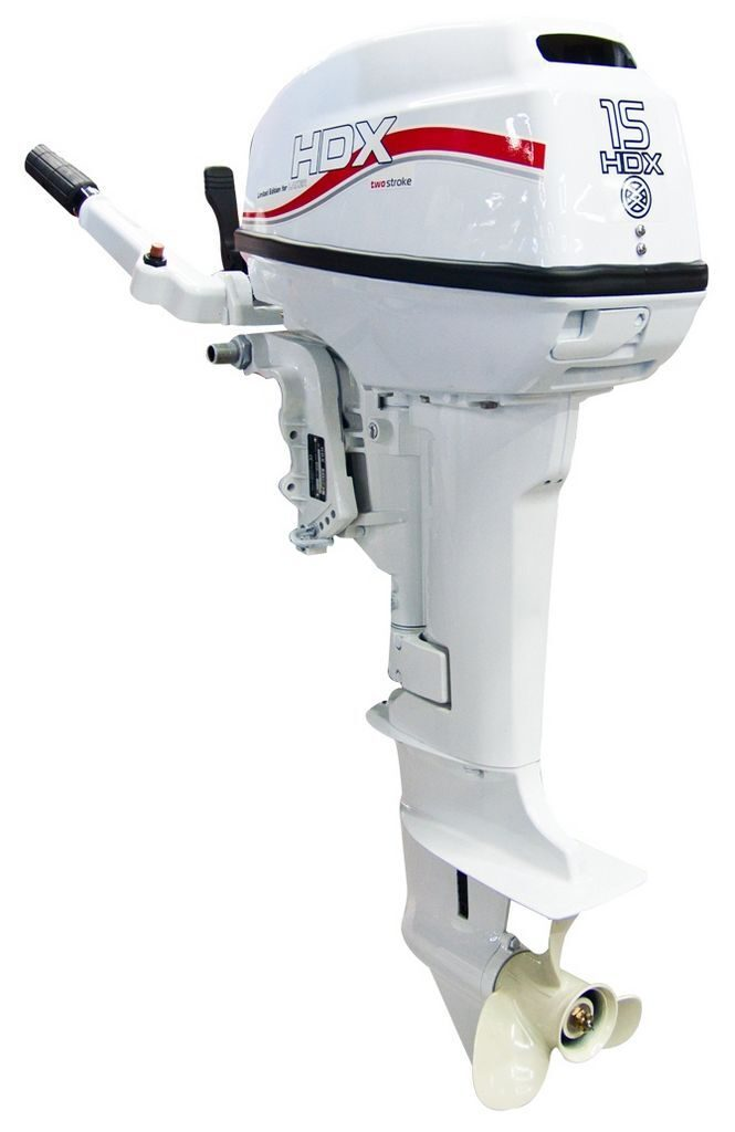 лодочный мотор hdx t 15 bms белый